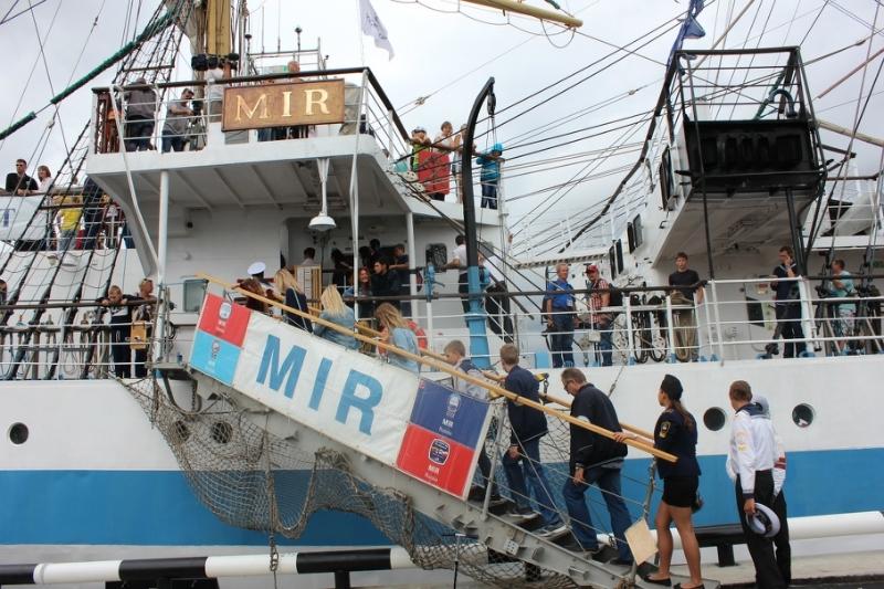 ВНовороссийск прибыли парусники Черноморской регаты