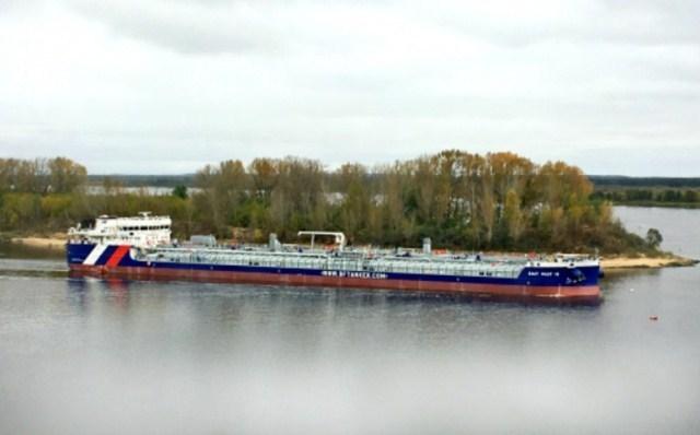 Танкер «Балт Флот 18» прибыл вРостов-на-Дону