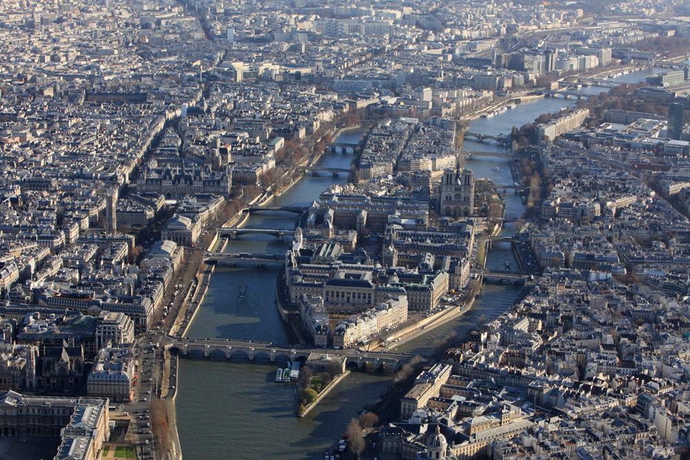 остров сен луи в париже фото