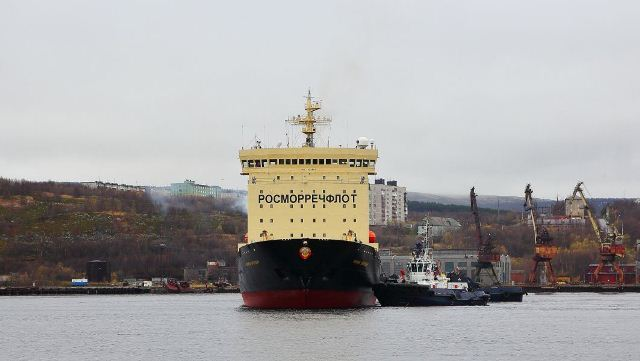 Экспедиция «Роснефти» впервый раз в РФ произвела буксировку больших айсбергов вАрктике